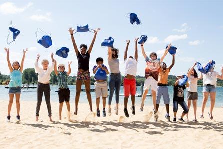 Collecte de fonds organisée par la Jeunesse au Plein Air