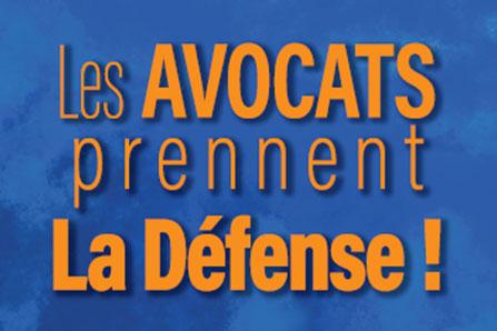 Les avocats prennent La Défense