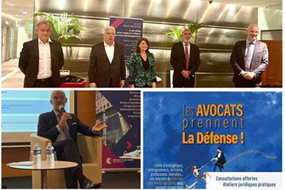 Retour en images sur l'événement les avocats prennent La Défense