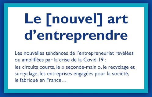 """Conférence en ligne """"Le [nouvel] art d'entreprendre"""""""