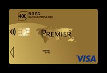 Carte Visa Premier Bred